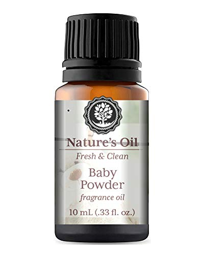 Baby Powder Fragrance Oil 10ml for Diffuser, Making Soap, Candles, Lotion, Home Scents, Linen Spray and Lotion