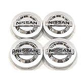 NEW 4pcs. Nissan 350Z Altima Maxima Murano Sentra Wheel Center caps 40342-AU510 by Replacement