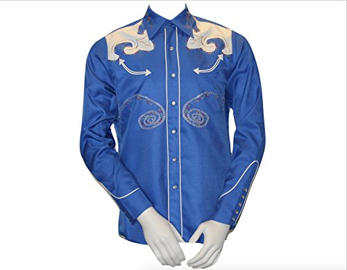 Used, HBarC/H Bar C - Embroidered Western Shirt - The Arrowhead for sale  Delivered anywhere in USA