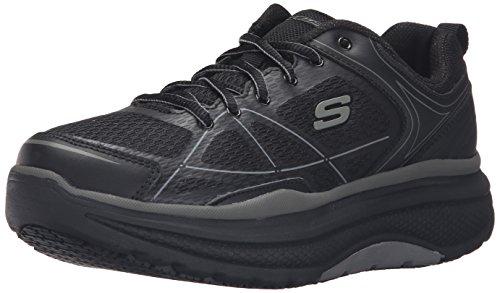 Skechers Cheriton Mujer US 9.5 Negro Zapato de Trabaja