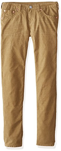 True Religion Boys' Geno Corduroy Pant, Beach Nut, 14