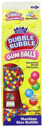 05371 - Sweet N Fun Limited - Dubble Bubble Gumballs Refill