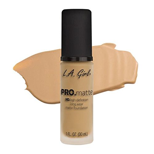 LA Girl PRO.mattte HD.high-definition long wear matte foundation (GLM673 Beige)