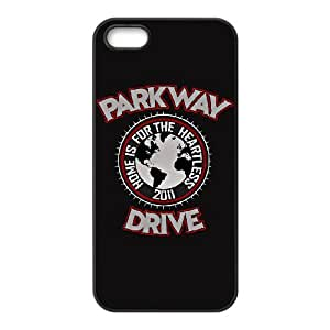 IPhone 5,5S Phone Case for Classic theme Parkway Drive pattern design GCTPKDV878650