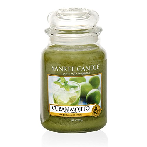 Yankee Candle 2017 Havana Collection CUBAN MOJITO Large Jar Candle - European - Havana Collection