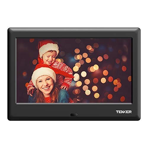 TENKER Digital Photo Frame [Updated Version] (7 inch-new)
