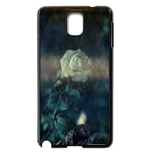 [Pink Rose Series] Samsung Galaxy Note 3 Cases Rose 26, Jumphigh - Black