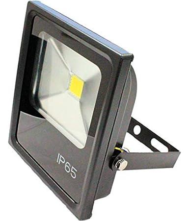 FOCO PROYECTOR EXTERIOR LED PROFESIONAL IP65 10W 5000K LUZ NEUTRA ...