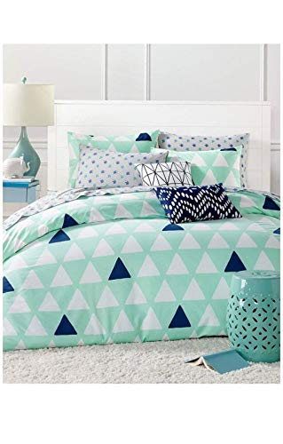 Martha Stewart Collection Twin Twin XL Comforter Set Going up collection Mint 4 pieces