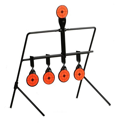 JUFENG .22 Rimfire Resetting Target, Outdoors Air Strike Pellet Shooting Target 5 Targets by JUFENG