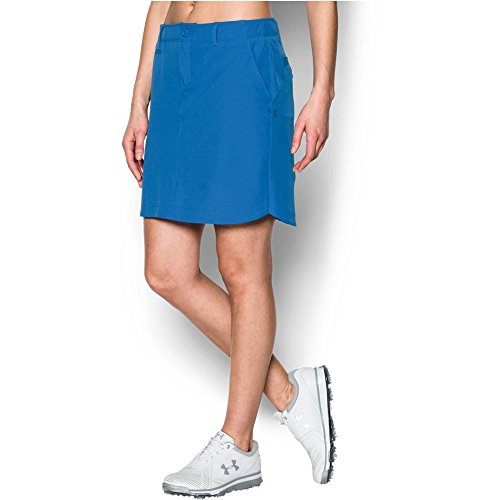 Under Armour Women's Links Woven Skort, Mediterranean/Lavender Ice, 6 (Under Armour Ice Compression Short)