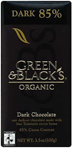 Chocolate Candies: Green & Black's Organic Dark Chocolate