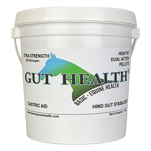 Gut Health Xtra Strength Peak Performance Pellet 6 lb by Basic Equine Health