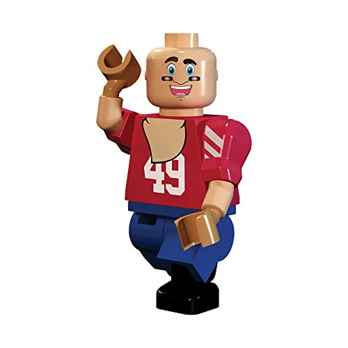 OYO NFL San Francisco 49ers Gen4 Limited Edition Sourdough Sam The Mascot Mini Figure, Small, White (San Francisco 49ers Limited Edition Football)