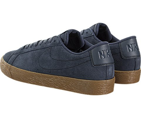 Nike Men's Sb Zoom Blazer Low Thunder Blue/Ankle-High Suede Skateboarding Shoe - 10M by Nike (Image #3)