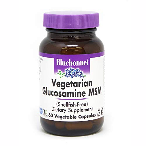 (BlueBonnet Vegetarian Glucosamine Plus MSM Supplement, 60 Count)