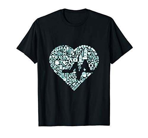 Doctor Heart T-Shirt Medical Nurse Funny Hospital Staff -