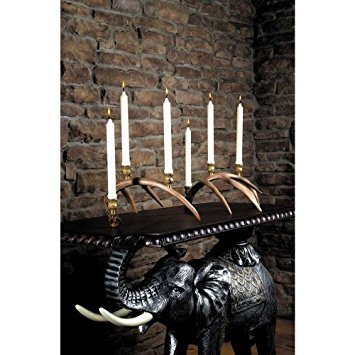 - Whitetail Antler Candelabra Set
