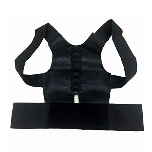 Posture Corrector Women Adjustable Back Support Belt Brace Magnetic Support Posture Shoulder Corrector S-XXL