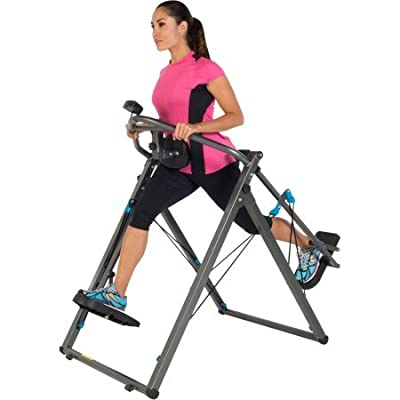 "Fitness Reality Zero Impact 48"" Stride Elliptical Cloud Walker X3 with Pulse Sensors 2410"