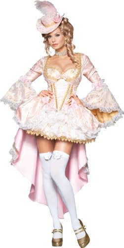 Vixen of Versailles Costume - X-Small - Dress Size (Sexy Marie Costumes)
