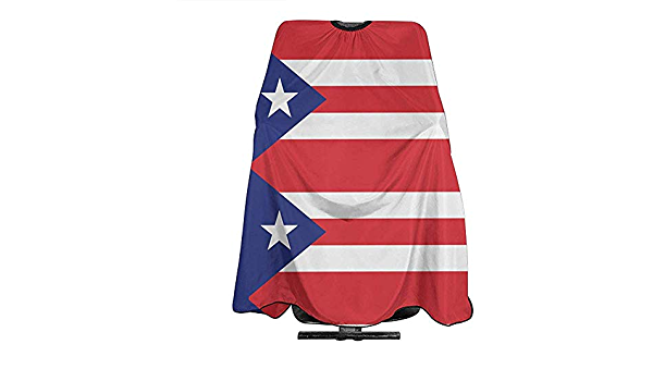 Capa De Peluquería Para Bandera Puerto Rico Corte De Pelo ...