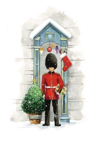 Box of 10 Festive Duty Shelter Fairdeal Charity Christmas Cards Boxed