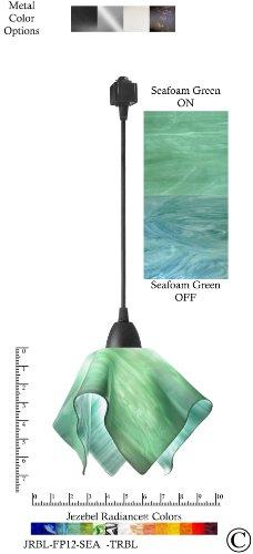 Sea Glass Colored Pendant Lights - 6