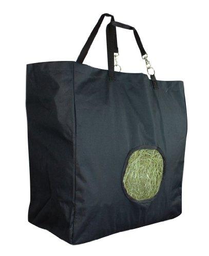 Perri's Cordura Hay Bag, Black, One Size