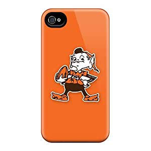 Shockproof Hard Cell-phone Cases For Iphone 6 With Provide Private Custom High Resolution Cleveland Browns 4 Series DustinFrench