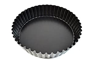 Correctly. What deep tart pan with removable bottom excellent and