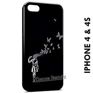 Carcasa Funda iPhone 4/4S Headshot Birds Protectora Case Cover
