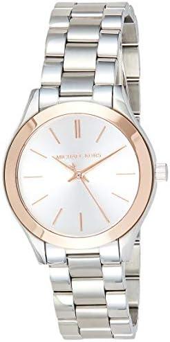 Michael Kors Mini Slim Runway ladies wrist watch – 33 mm
