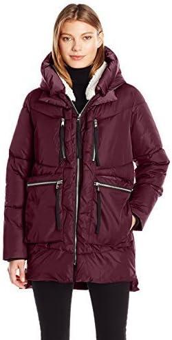 Steve Madden Women's Puffer Parka Jacket
