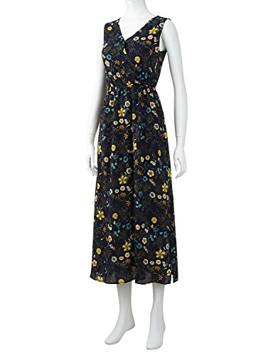 Dress Sale X Plus Sizes Flower Sexy Clearance we Navy Regna Pattern Sleeveless Midi Casual Women Maxi Party Have EAvWpcqO
