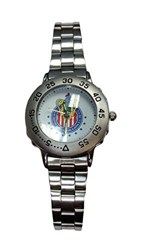 chivas-del-guadalajara-womens-stainless-steel-watch
