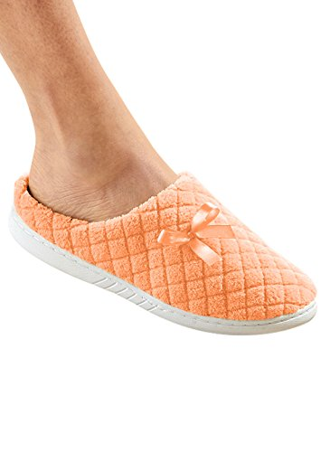 Wright Clog Orange Carol Slipper Gifts Quilted Citrus qZZSdC