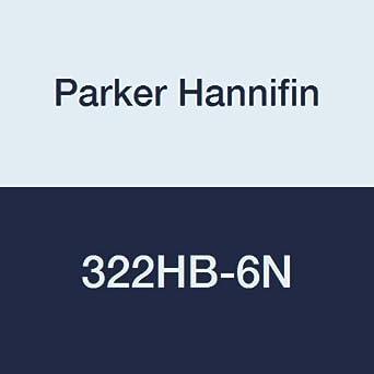 Nylon White 1//4 Hose Barb x 1//4 Hose Barb Pack of 5 Parker Hannifin 322HB-4N-pk5 Par-Barb Union Connector Fitting