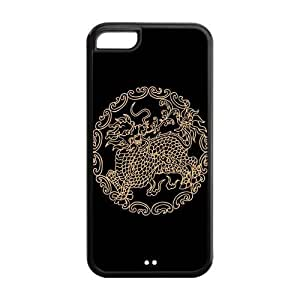 Cool Dragon Protective Rubber Back Fits Cover Case for iPhone 5C