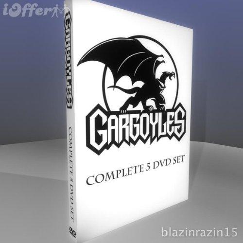 DISNEY'S GARGOYLES-THE COMPLETE SERIES- 5 DVD SET (Gargoyles Dvd)