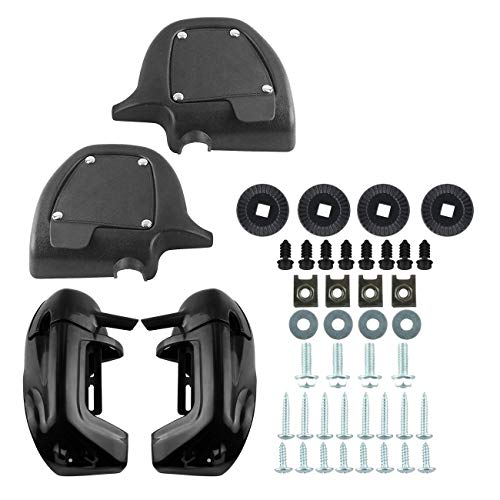 - Ambienceo Lower Leg Vented Fairing Set for 1983-2012 Harley Touring FLT, FLHT, FLHTCU, FLHRC, Road King, Street Glide, Electra Glide, Ultra-Classic, Road Glide