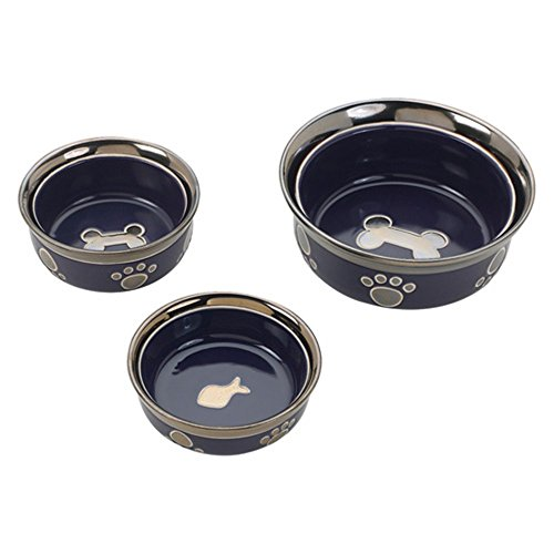 Ritz Copper Rim Dog Dish product image