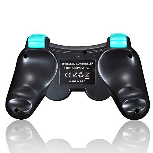 Mando PS3 Inalambrico Dualshock Controller Bluetooth con Función SIXAXIS y Doble Vibración para Sony Playstation 3 Incluyendo Cable De Carga: Amazon.es: ...