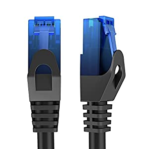 KabelDirekt TOP Series (25ft) Cat6 Gigabit Ethernet Cable with Snagless RJ45 Connector - High-Speed and Reliable 1Gbps Internet Cord/Patch Cable with UTP Corrosion Resistant Twisted Copper Wires