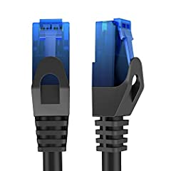 KabelDirekt TOP Series: High-Speed 1Gbps Cat6 UTP Ethernet Cable with Snagless RJ45 Connector Achieve a fast, reliable internet connection and optimize your home, games console, or office network performance with your new KabelDirekt Cat6 Eth...