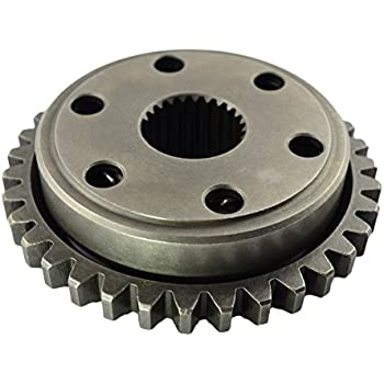 AHL Starter Clutch One Way Bearing Gear Assy for Honda TRX450R 2006-2009 TRX450ER 2006-2014 TRX450 ER Sportrax 450 2006-2009