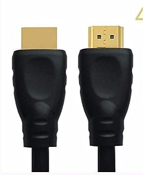 DSZQ Hdmi de alta velocidad cable2.0 Edición 4K para notebook set-top box TV PC para conectar el cable de datos, negro versión 2.0-4k chosho 5 m: Amazon.es: ...