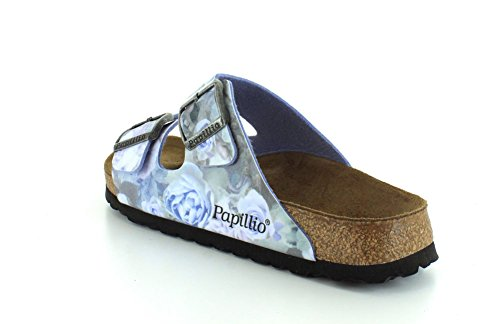 Blue Silky Papillio Womens Rose Birko Sandals Arizona Flor W0vWXn