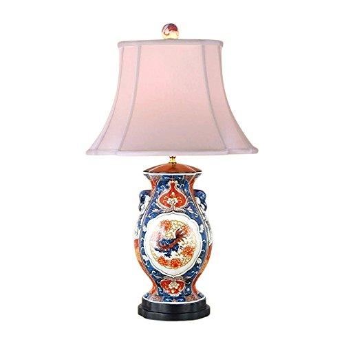 Chinese Porcelain Imari Style Vase Table Lamp 28