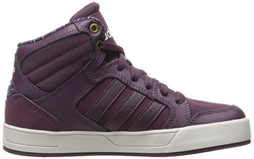 W Merlot Women's Pearl Casual Grey NEO Sneaker Raleigh adidas Mid wpq1aS6g